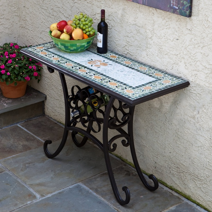 an outdoor console table for more information and pictures http