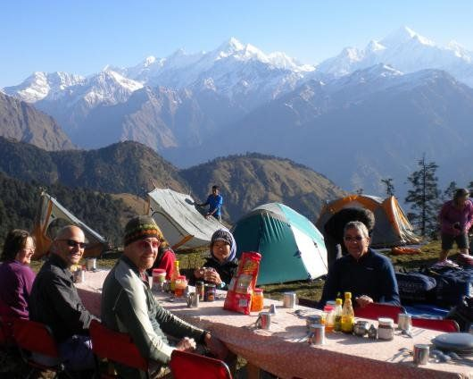 Breakfast in the Gauri Ganga valley
