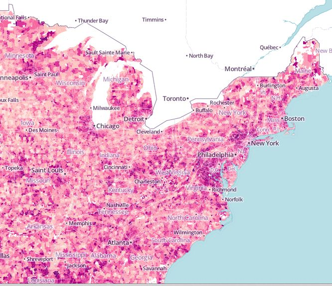 Best CartographyMaps Images On Pinterest Cartography - Us aging population interactive map
