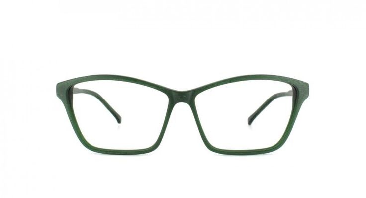 HIGHBROW I A modern feminine style which highlights the brow line. Better than surgery for lifting the cheek bones. Thin acetate for a very light and elegant look. Emerald is a solid green color which looks great on red-heads and brunettes.
