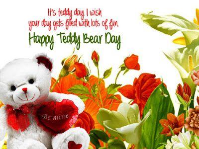 happy teddy bear day cards