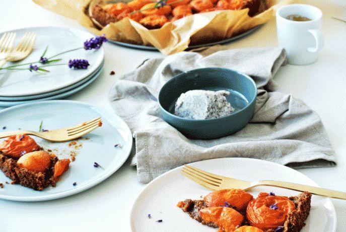 Aprikosen-Tarte! Ein TCM Rezept mit dem Geschmack der Provence!