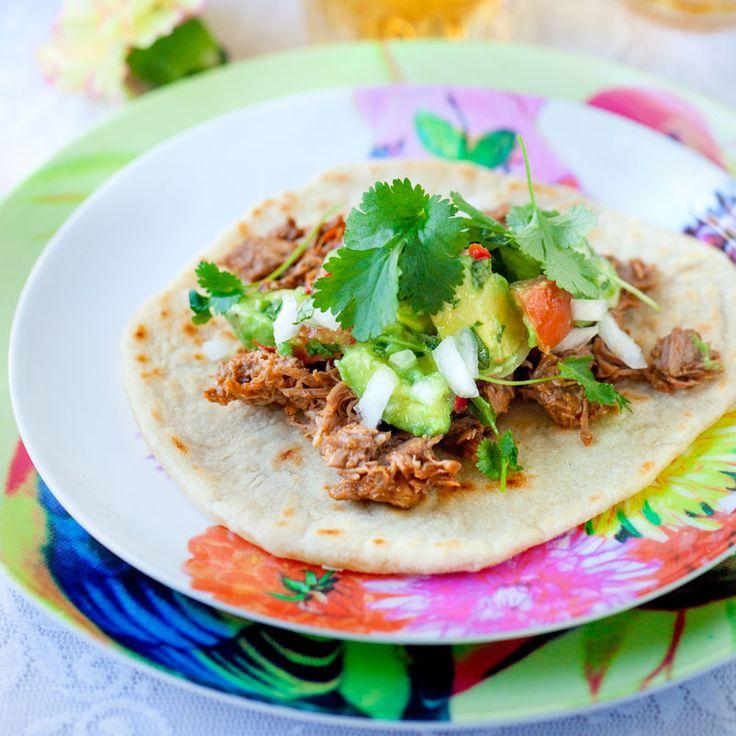 Carnitas – långkokt karré på mexikanskt vis
