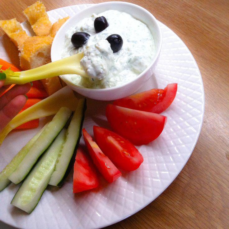 Tzatziki (salsa greca) #tzatziki http://www.miintorto.it/tzatziki-salsa-greca/