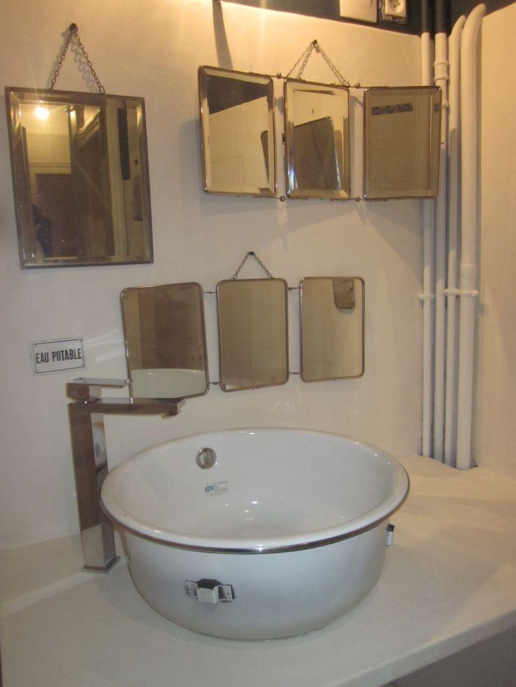 84 les meilleures images concernant miroirs sur pinterest for Miroir 4 murs