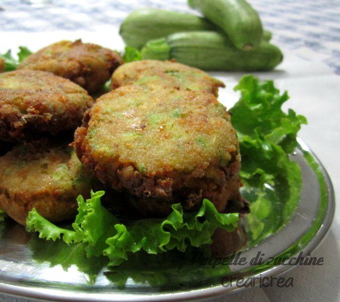 POLPETTE DI ZUCCHINE - ricetta vegetariana