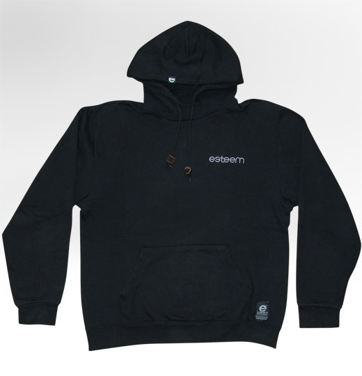 SYSTEM hoody black (front view)