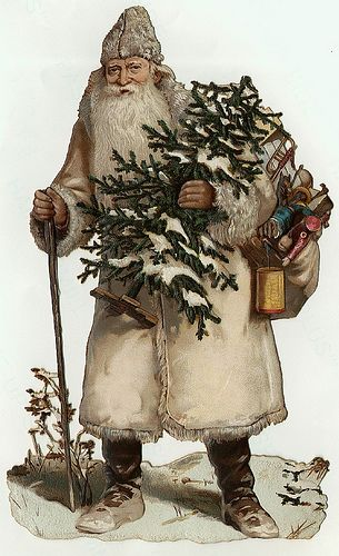 papers.quenalbertini: Vintage Father Christmas Image