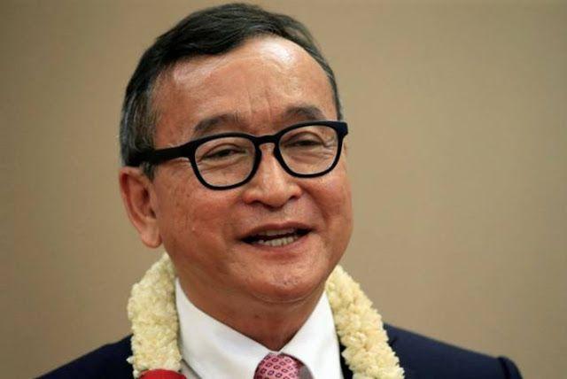 Cambodia's Hun Sen Will Fall Like Mugabe Says Opponent Rainsy
