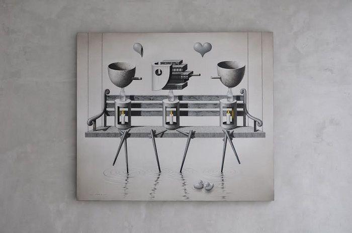 Nyaman Group Indonesia - Nyaman Art Gallery - Our amazing artist Fauzi