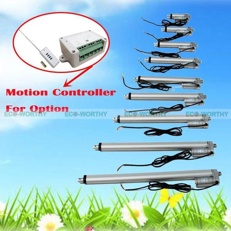 12V Linear Actuator 330 Pounds/150kg Max Lift Electric Motor Bracket Optional | Home & Garden, Home Improvement, Electrical & Solar | eBay!