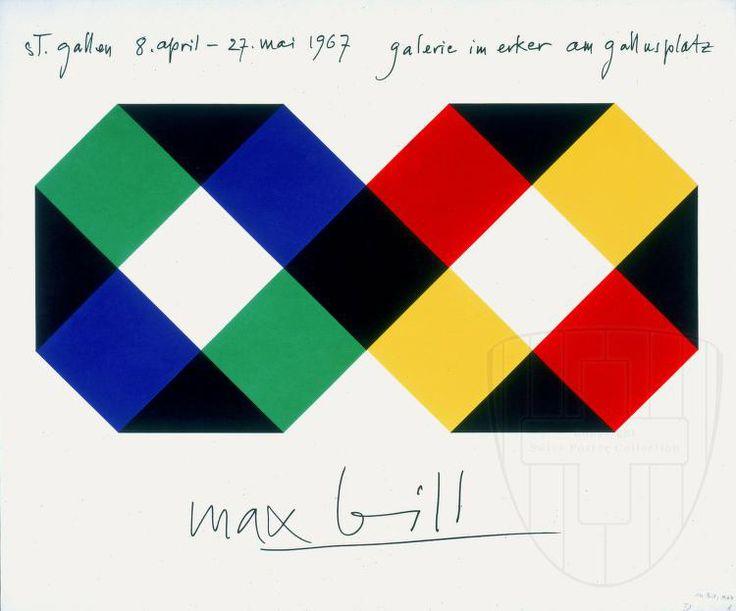 Max Bill Poster                                                                                                                                                                                 Mais
