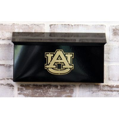 HensonMetalWorks NCAA Wall Mounted Mailbox NCAA Team: Auburn University