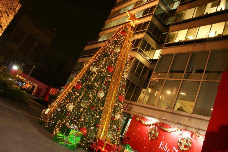 Árbol de Navidad, Atrio de San Francisco