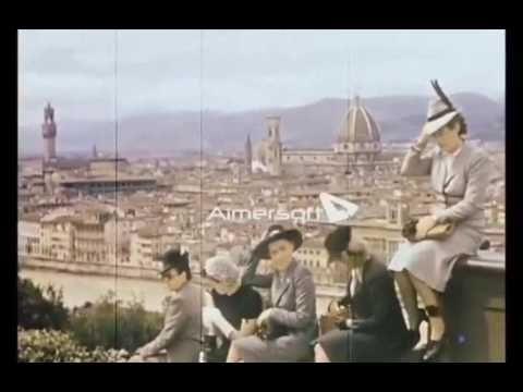 eva braun wife of Hitler's visit to Florence (1938)