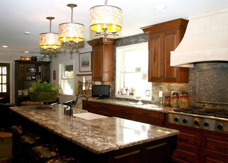 Minsk Green Granite Kitchen Countertop Island Finished Installed Granix 2