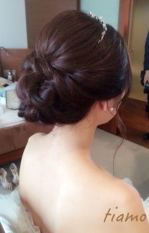 大人可愛い3スタイルチェンジ♡楽しいお二人の1日 | 大人可愛いブライダルヘアメイク 『tiamo』 の結婚カタログ