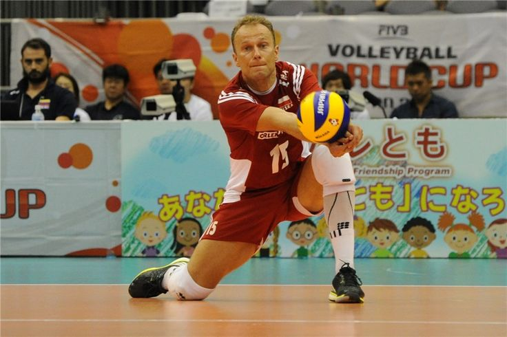 Piotr Gacek (#15) - libero  Puchar Świata w Piłce Siatkowej Mężczyzn 2015