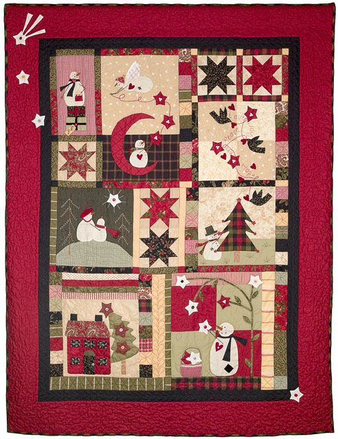 """Catch A Christmas Star"" by Bunny Hill Designs - Christmas Quilt Pattern at Fabric Patch (Australia)"