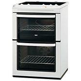Buy Zanussi ZCV661MWC Electric Cooker, White online at John Lewis
