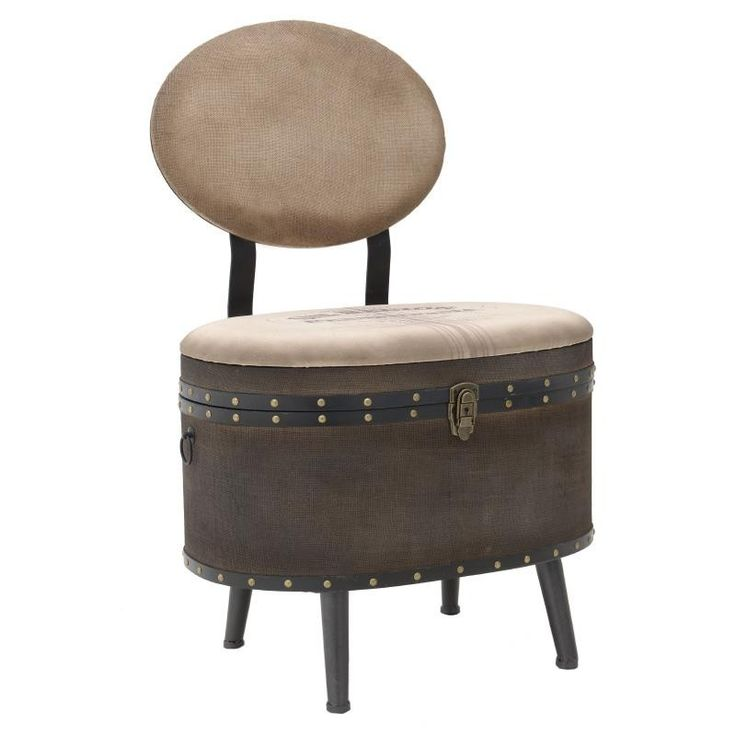 Trunk Stool - Stools - FURNITURE - inart