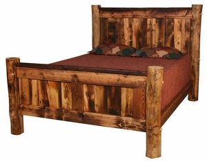 Homestead Bed -- Amazing Log Bed