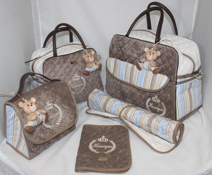 Kit Maternidade Personalizado www.puppen.com.br