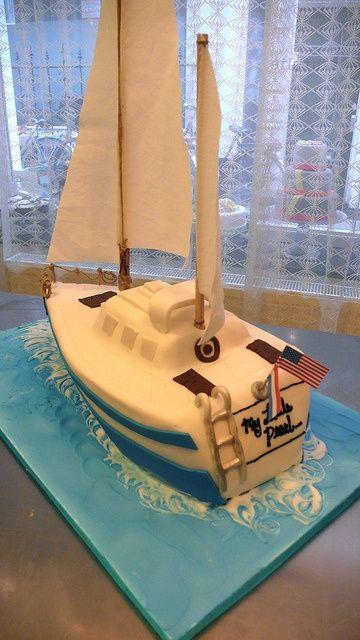 Best  Sailboat Cake Ideas On Pinterest Nautical Theme - Boat birthday cake ideas
