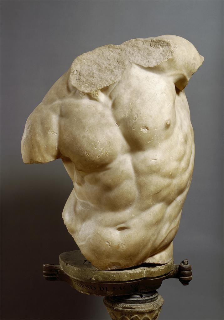 Hellenistic, Torso of a Satyr, c. 2nd century BCE