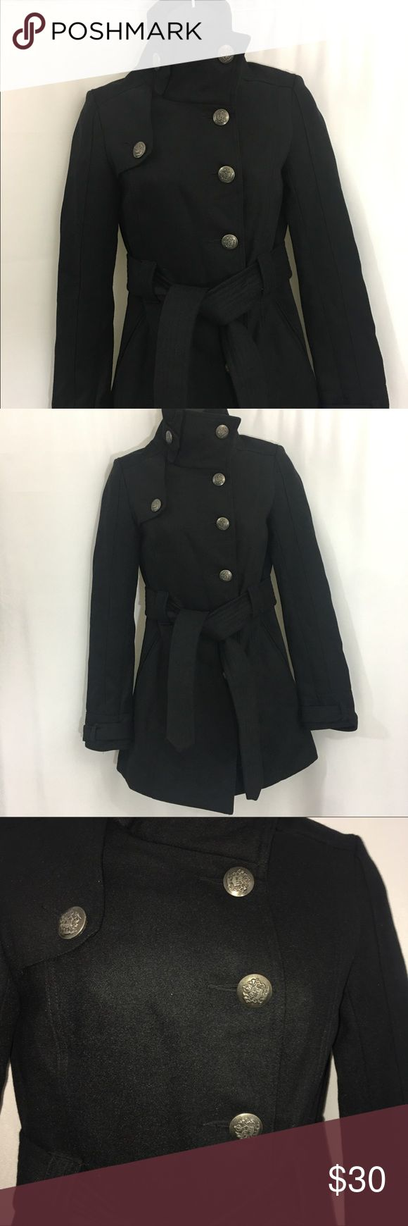 Women's Military Jacket Great condition no sign of wear.  Polyester lining. Size XS Jackets & Coats Utility Jackets