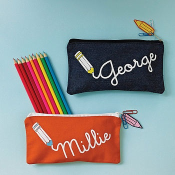 Personalised Writing Pencil Case