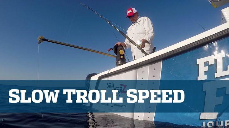 Florida Sport Fishing TV Slow Trolling Pro's Tip