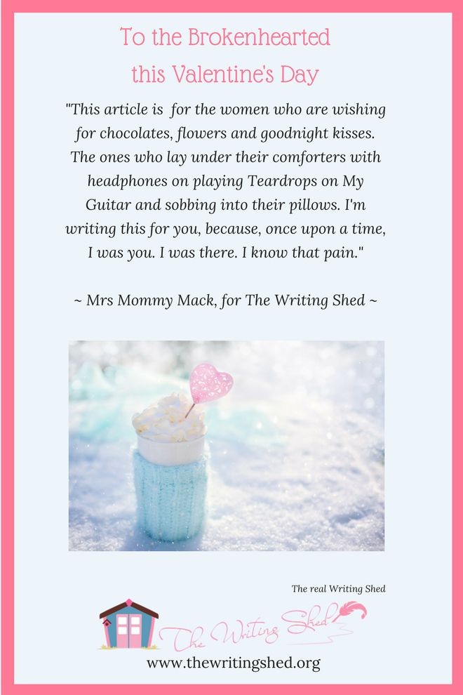 In Mrs. Mommy Mack's latest article for The Writing Shed, she writes for the women who are wishing for chocolates, flowers and goodnight kisses on this #valentinesday.  PLUS --> A FREE printable Valentine's day card!