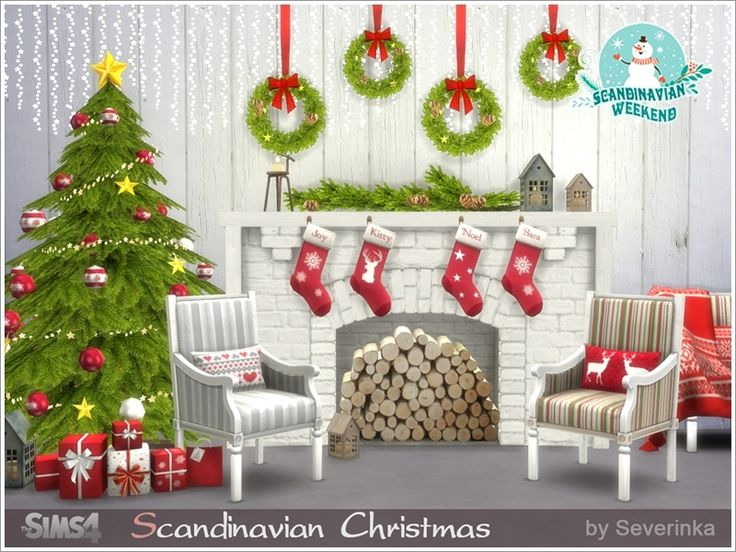 A Set Of Furniture And Decor For The Living Room Or Dining In Scandinavian