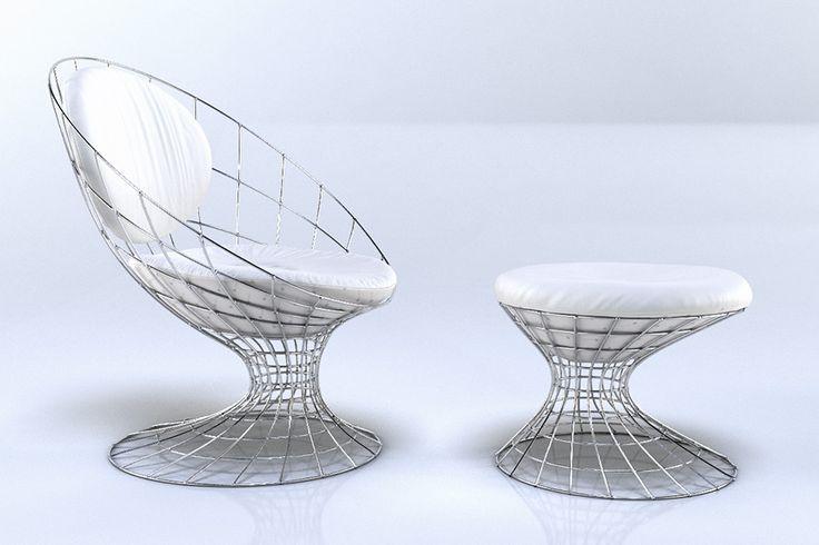 Бесплатные 3d модели - Кресла v2 | ВИЗ-Люди