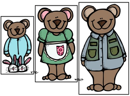 Goldilocks & the 3 Bears Activities (from Preschool Wonders)