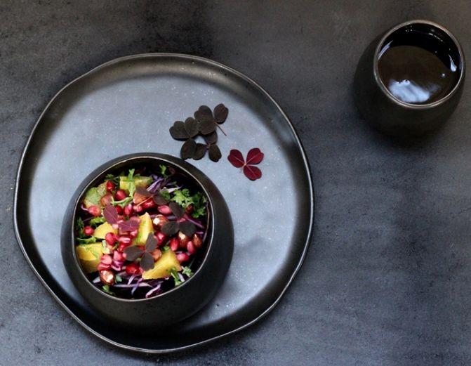 Lækker sort keramik kop fra Louise Smærup - FRI FRAGT VED KØB OVER 479,-