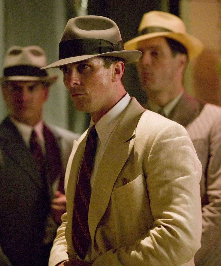 """Christian Bale en """"Enemigos públicos"""" (Public Enemies), 2009"""