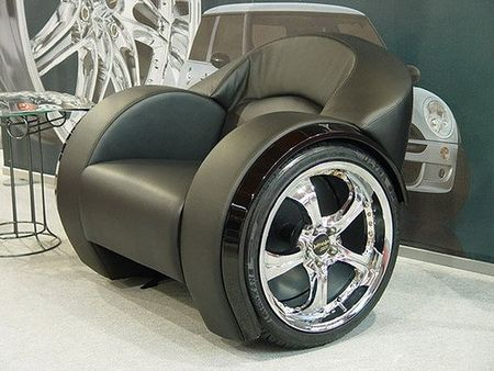 Furniture made from car parts i want pinterest for Furniture made from cars