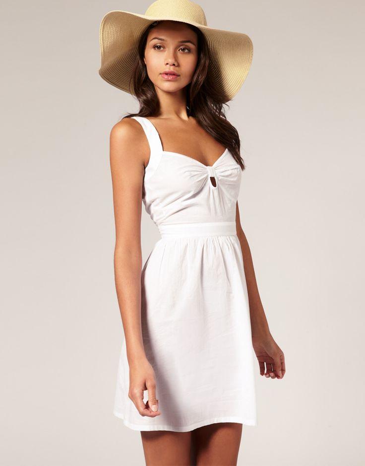 15 best White Summer Dress images on Pinterest | White summer ...