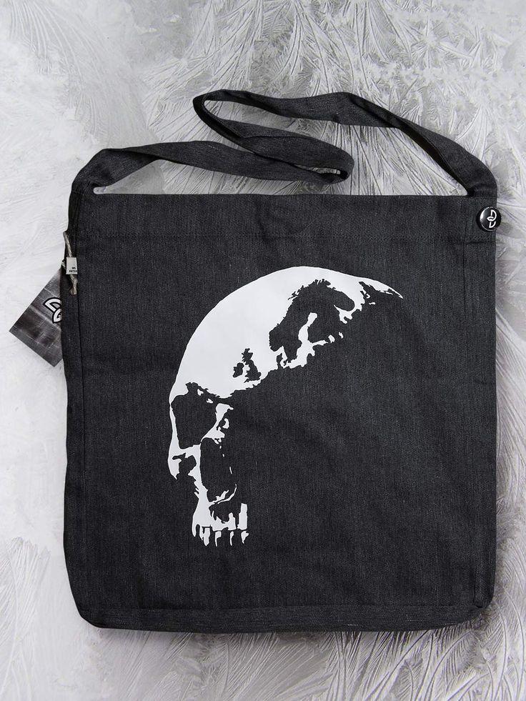 Pohjola sling tote bag by Paranoia Borealis.