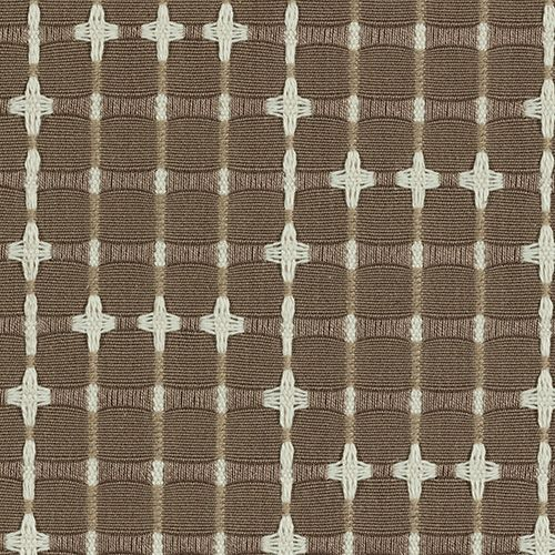 Tara Upholstery in Nutmeg | Knoll Luxe #fabric #textiles #cotton #brown