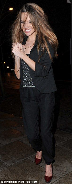 Nadine Coyle heads out for an after party #TenTour