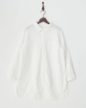 ホワイト  ロングシャツ - シュープリームララ|ブランド通販(セール)なら【グラムール セールス】