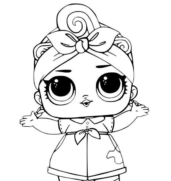 Fancy Glitter Lol Surprise Doll Coloring Page Free Printable Coloring Pages Cute Coloring Pages Princess Coloring Pages Unicorn Coloring Pages