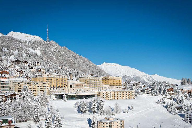 Kulm Hotel St. Moritz in the Engadine – 5-star superior, wellness, restaurants, winter dream