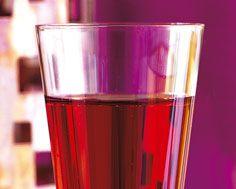 Kir Royale festive beverage @DinnerbyDesign