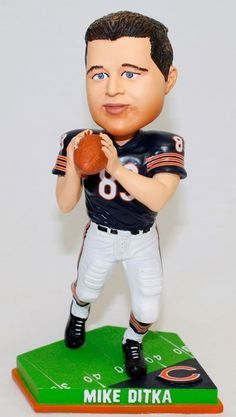 Mike Ditka Chicago Bears NFL Limited Edition Action Pose Bobblehead Figurine