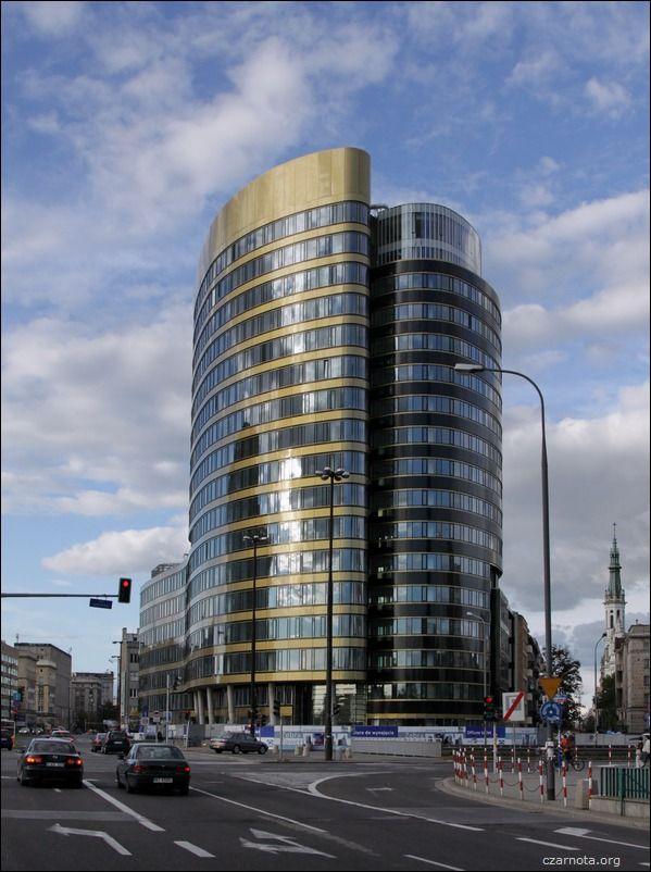 Warszawa rondo Jazdy Polskiej_Zebra_Tower