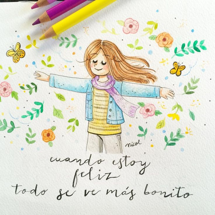 Relax  #watercolor #illustration #lavidadenicol #drawing #art #quotes